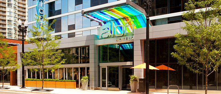 The aloft chicago city center hotel innoverto training for Alf hotel downtown