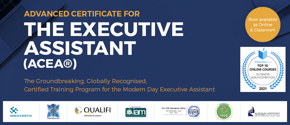 Advanced Certificate for the Executive Assistant (ACEA™)