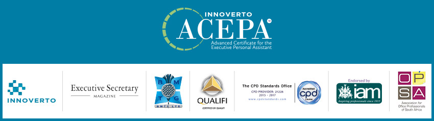 Advanced Certificate for the Executive Personal Assistant (ACEPA™) / (ACEA™)