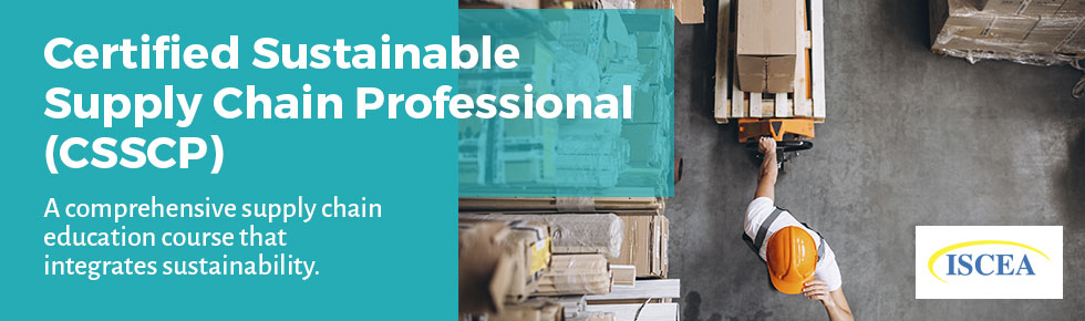 Certified  Sustainable  Supply Chain Professional (CSSCP)