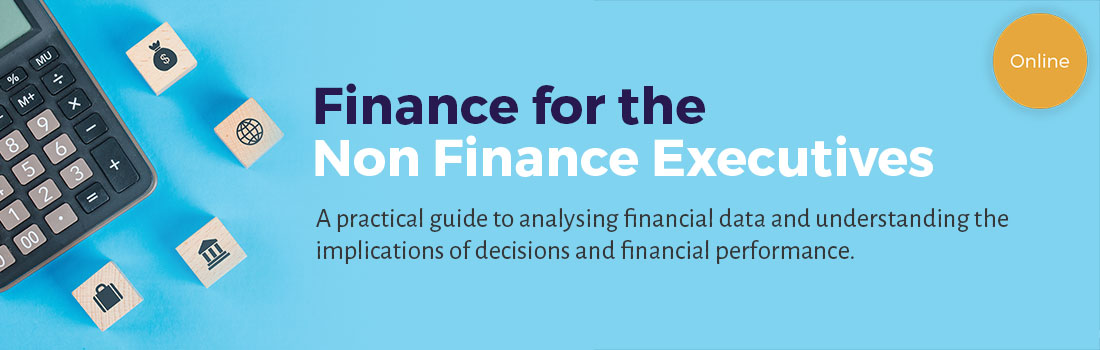 Finance for the Non Finance Executive Banner