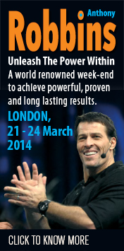 Anthony Robbins Live in London,Unleash The Power Within